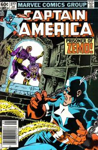 Cover Thumbnail for Captain America (Marvel, 1968 series) #277 [Newsstand Edition]