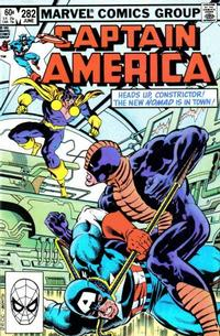Cover Thumbnail for Captain America (Marvel, 1968 series) #282 [Direct]