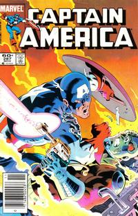 Cover Thumbnail for Captain America (Marvel, 1968 series) #287 [Newsstand]
