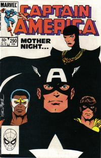 Cover Thumbnail for Captain America (Marvel, 1968 series) #290 [Direct Edition]