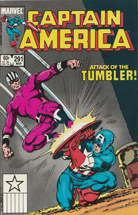 Cover Thumbnail for Captain America (Marvel, 1968 series) #291 [Direct Edition]