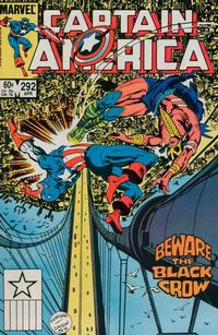 Cover Thumbnail for Captain America (Marvel, 1968 series) #292 [Direct Edition]