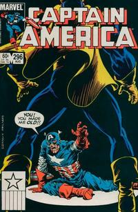 Cover Thumbnail for Captain America (Marvel, 1968 series) #296 [Direct]