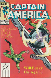 Cover for Captain America (Marvel, 1968 series) #297 [Direct Edition]