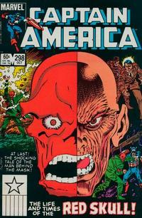 Cover Thumbnail for Captain America (Marvel, 1968 series) #298 [Direct Edition]