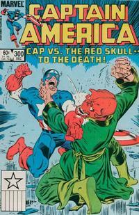 Cover Thumbnail for Captain America (Marvel, 1968 series) #300 [Direct]