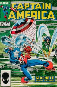 Cover Thumbnail for Captain America (Marvel, 1968 series) #302 [Direct Edition]