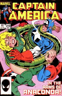 Cover Thumbnail for Captain America (Marvel, 1968 series) #310 [Direct Edition]