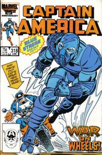 Cover Thumbnail for Captain America (Marvel, 1968 series) #318 [Direct Edition]