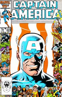Cover Thumbnail for Captain America (Marvel, 1968 series) #323 [Direct Edition]