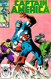 Cover Thumbnail for Captain America (Marvel, 1968 series) #324 [Direct Edition]