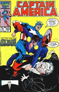 Cover Thumbnail for Captain America (Marvel, 1968 series) #325 [Direct Edition]