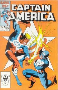 Cover Thumbnail for Captain America (Marvel, 1968 series) #327 [Direct Edition]