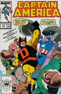 Cover Thumbnail for Captain America (Marvel, 1968 series) #328 [Direct]