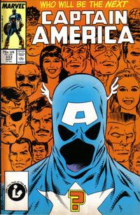 Cover for Captain America (Marvel, 1968 series) #333 [Newsstand Edition]