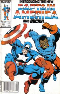 Cover for Captain America (Marvel, 1968 series) #334 [Newsstand Edition]
