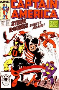Cover Thumbnail for Captain America (Marvel, 1968 series) #337 [Direct]