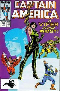 Cover Thumbnail for Captain America (Marvel, 1968 series) #342 [Direct]