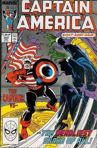 Cover Thumbnail for Captain America (Marvel, 1968 series) #344 [Direct Edition]
