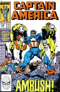 Cover Thumbnail for Captain America (Marvel, 1968 series) #346 [Direct Edition]