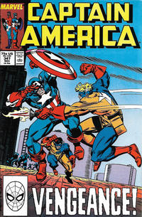 Cover Thumbnail for Captain America (Marvel, 1968 series) #347 [Direct Edition]