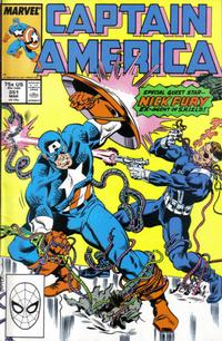 Cover Thumbnail for Captain America (Marvel, 1968 series) #351 [Direct]