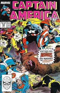 Cover Thumbnail for Captain America (Marvel, 1968 series) #352 [Direct]