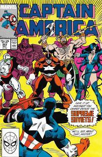Cover Thumbnail for Captain America (Marvel, 1968 series) #353 [Direct]