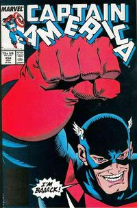 Cover Thumbnail for Captain America (Marvel, 1968 series) #354 [Direct Edition]