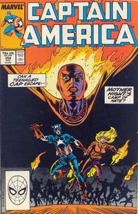 Cover Thumbnail for Captain America (Marvel, 1968 series) #356 [Direct Edition]