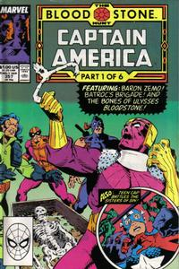 Cover Thumbnail for Captain America (Marvel, 1968 series) #357 [Direct Edition]