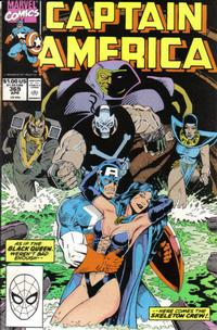 Cover for Captain America (Marvel, 1968 series) #369 [Direct Edition]