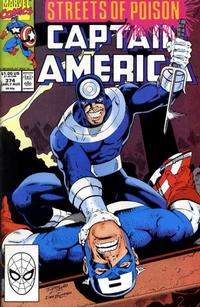 Cover Thumbnail for Captain America (Marvel, 1968 series) #374 [Direct Edition]