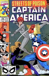 Cover Thumbnail for Captain America (Marvel, 1968 series) #376 [Direct Edition]