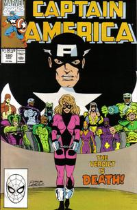 Cover Thumbnail for Captain America (Marvel, 1968 series) #380 [Direct Edition]