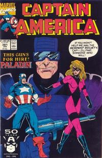 Cover Thumbnail for Captain America (Marvel, 1968 series) #381 [Direct Edition]