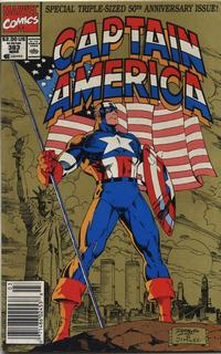 Cover for Captain America (Marvel, 1968 series) #383 [Direct Edition]