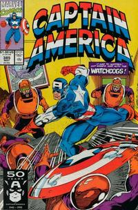 Cover Thumbnail for Captain America (Marvel, 1968 series) #385 [Direct Edition]