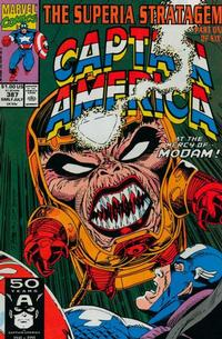 Cover Thumbnail for Captain America (Marvel, 1968 series) #387 [Direct Edition]