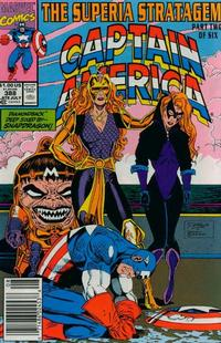 Cover Thumbnail for Captain America (Marvel, 1968 series) #388 [Newsstand]