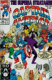 Cover Thumbnail for Captain America (Marvel, 1968 series) #390 [Direct Edition]