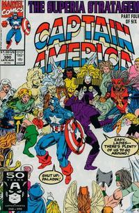 Cover Thumbnail for Captain America (Marvel, 1968 series) #390 [Direct]