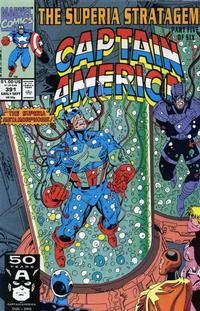 Cover Thumbnail for Captain America (Marvel, 1968 series) #391 [Direct Edition]