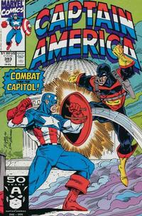 Cover Thumbnail for Captain America (Marvel, 1968 series) #393 [Direct Edition]