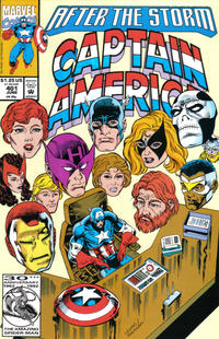 Cover Thumbnail for Captain America (Marvel, 1968 series) #401 [Direct]