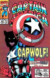 Cover Thumbnail for Captain America (Marvel, 1968 series) #405 [Direct Edition]