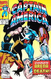 Cover Thumbnail for Captain America (Marvel, 1968 series) #411 [Direct Edition]