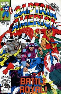 Cover Thumbnail for Captain America (Marvel, 1968 series) #412 [Direct Edition]
