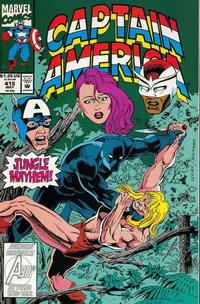 Cover Thumbnail for Captain America (Marvel, 1968 series) #415 [Direct Edition]