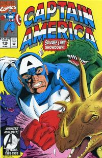 Cover Thumbnail for Captain America (Marvel, 1968 series) #416 [Direct Edition]